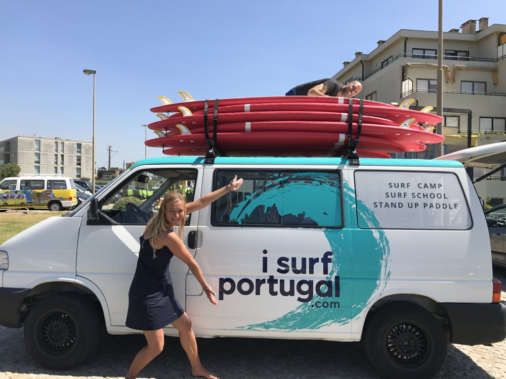 ISurfPortugal Camp in Estela | Porto